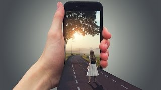 How to Create 3D Mobile Effect   Photoshop Tutorial