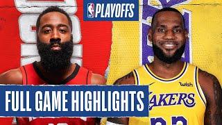 Los Angeles Lakers vs Houston Rockets | September 6, 2020