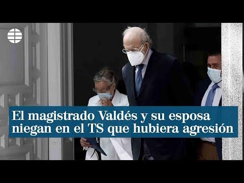 El magistrado Valdés y su esposa niegan en el Supremo que hubiera agresión