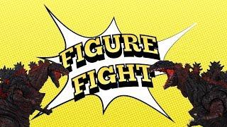FIGURE FIGHT! SHIN GODZILLA: S.H. MonsterArts vs NECA