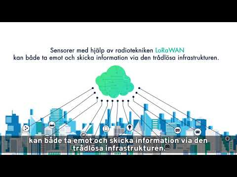 LoRa - En energisnål och trådlös teknik för IoT och smart uppkoppling.