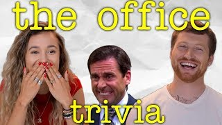 Scotty Sire & Kristen McAtee Compete in Our Ultimate The Office Smoothie Trivia Challenge!