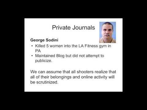 Mass Shooter Manifestos