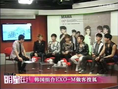 【EXOCN】EXO-M搜狐411採訪 (Full)