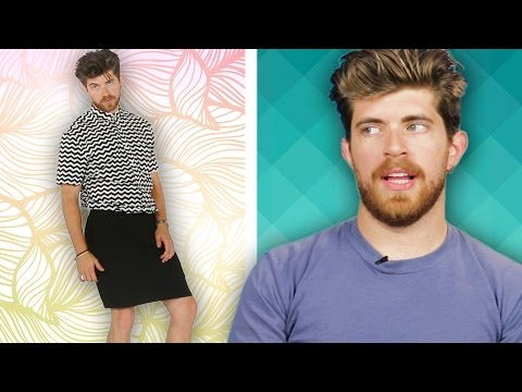 Men Wear Skirts For A Week
