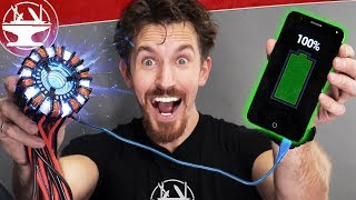 Real Arc Reactor (ionized plasma generator)