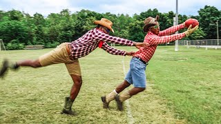 IF LIL NAS X PLAYED FOOTBALL.. (OLD TOWN ROAD 1ON1'S)
