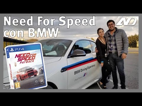 Del juego a la pista. Experiencia Need For Speed con BMW - Vlog + Giveaway