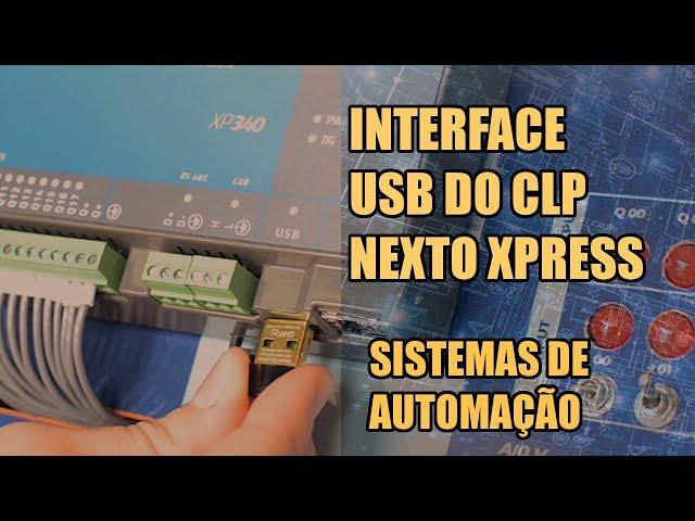 INTERFACE USB COM CLP NEXTO XPRESS