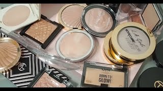 Cheap Highlighters In My Collection: Drugstore and More