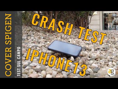 Crash Test iPhone 13 pro con COVER SPIGE …