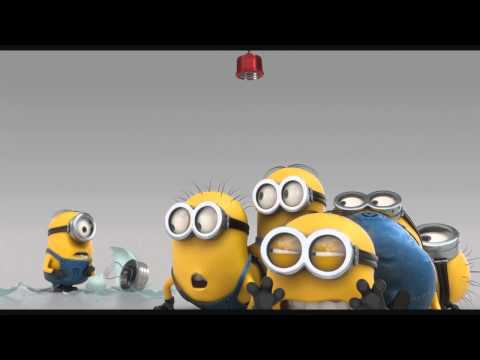 Minions - Cow Cup , The Stars are Brighter , Evil Minion Animation Test , Banana song