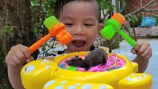 Trò Chơi Đập Con Chuột ❤ ChiChi ToysReview TV ❤ Đồ Chơi Trẻ Em Baby Doli