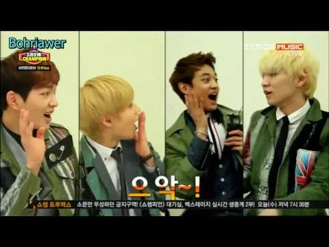 [Thaisub]130501 Show Champion SHINee  Interview SHINe Why So Serious
