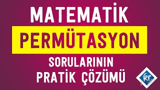 KPSS Matematik - Permütasyon