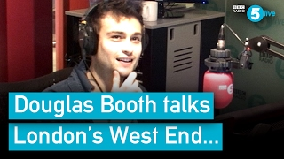 Douglas Booth on acting, dyslexia, Instagram and more...