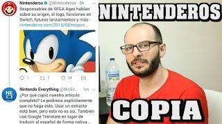 ¡PILLADA A NINTENDEROS COPIANDO UN ARTÍCULO! - Sasel - Nintendo Switch - Español - noticias