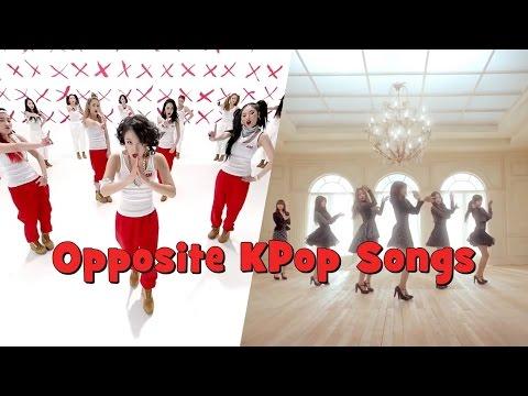 Opposite KPop Songs