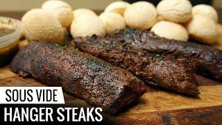 Sous Vide HANGER STEAK - Butcher Kept Secret, done 3 ways!