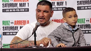 ANGRY CHRIS ARREOLA REACTS TO LOSS TO ANDY RUIZ JR - FULL POST FIGHT PRESS CONFERENCE