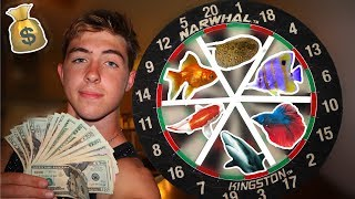 EXPENSIVE Dartboard FISH CHALLENGE!?