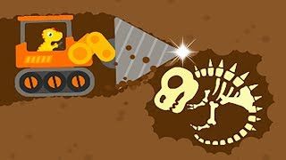 Dinosaur Digger 3 - The Truck Kids Game - Play Fun Dinosaur Digger Game For Kids