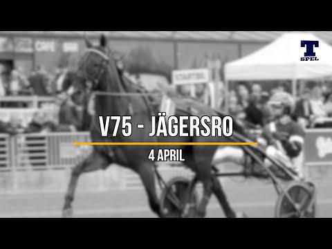 V75 tips - Jägersro 4/4-20