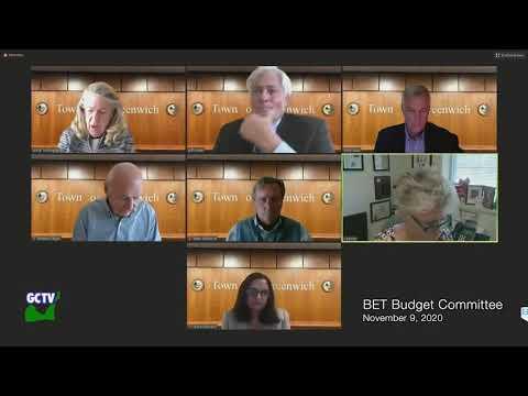 BET Budget Committee, November 9, 2020