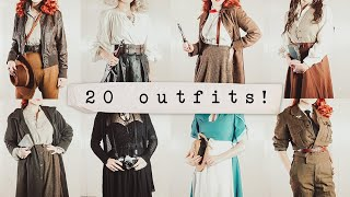 20 (vintage) Outfits Based on Fictional Characters!
