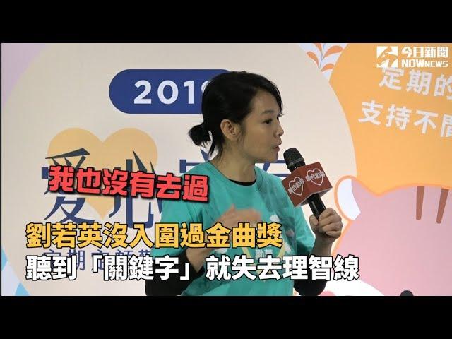 劉若英談金曲獎「理智線斷」:講到這個我頭都痛!
