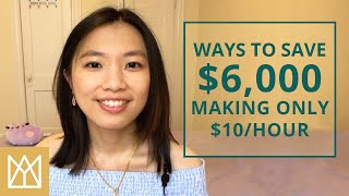 How To Save Money On Low Income | Minimum Wage