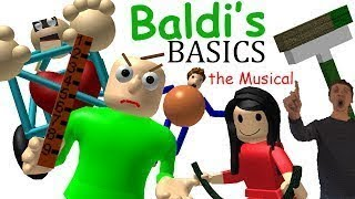 Baldi Basic The musical Versión (ROBLOX)