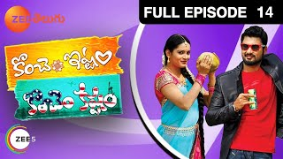 telugu-serials-video-27670-Konchem Istam Konchem Telugu Serial Episode : 14, Telecasted on  :17/04/2014