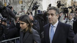 "Trump says ""I never directed Michael Cohen to break the law"""