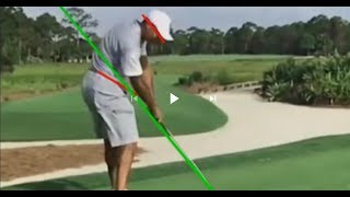 Tiger Woods 2017 swing vs. Setup 4 Impact Golf swing. Save your back!!!