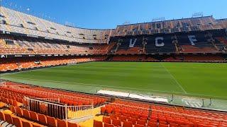 🦇¡Visito MESTALLA! El Estadio del Valencia...
