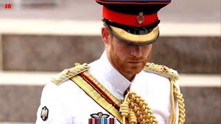 Prince Harry get emotional as Princess Diana's favorite hymn is performed at ANZAC Memorial