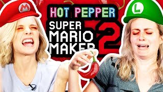 GHOST PEPPER MARIO MAKER! w/ FUNHAUS | Mario Maker 2