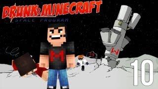 Drunk Minecraft #42 | TO THE MOON!!