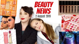 BEAUTY NEWS - 2 August 2019 | Makeup coming out the wazoo!