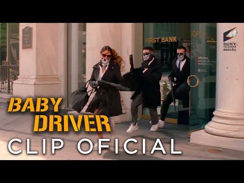 BABY DRIVER. Acelera hasta que termine la canción. En cines 7 de julio.