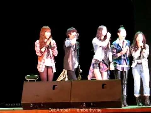 FANCAM 091024  Amber & Krystal dancing SNSD Genie