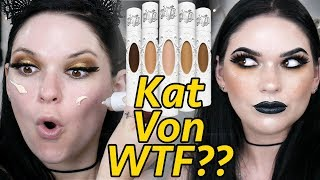 What's up with the new Kat Von D Foundation? 🤔