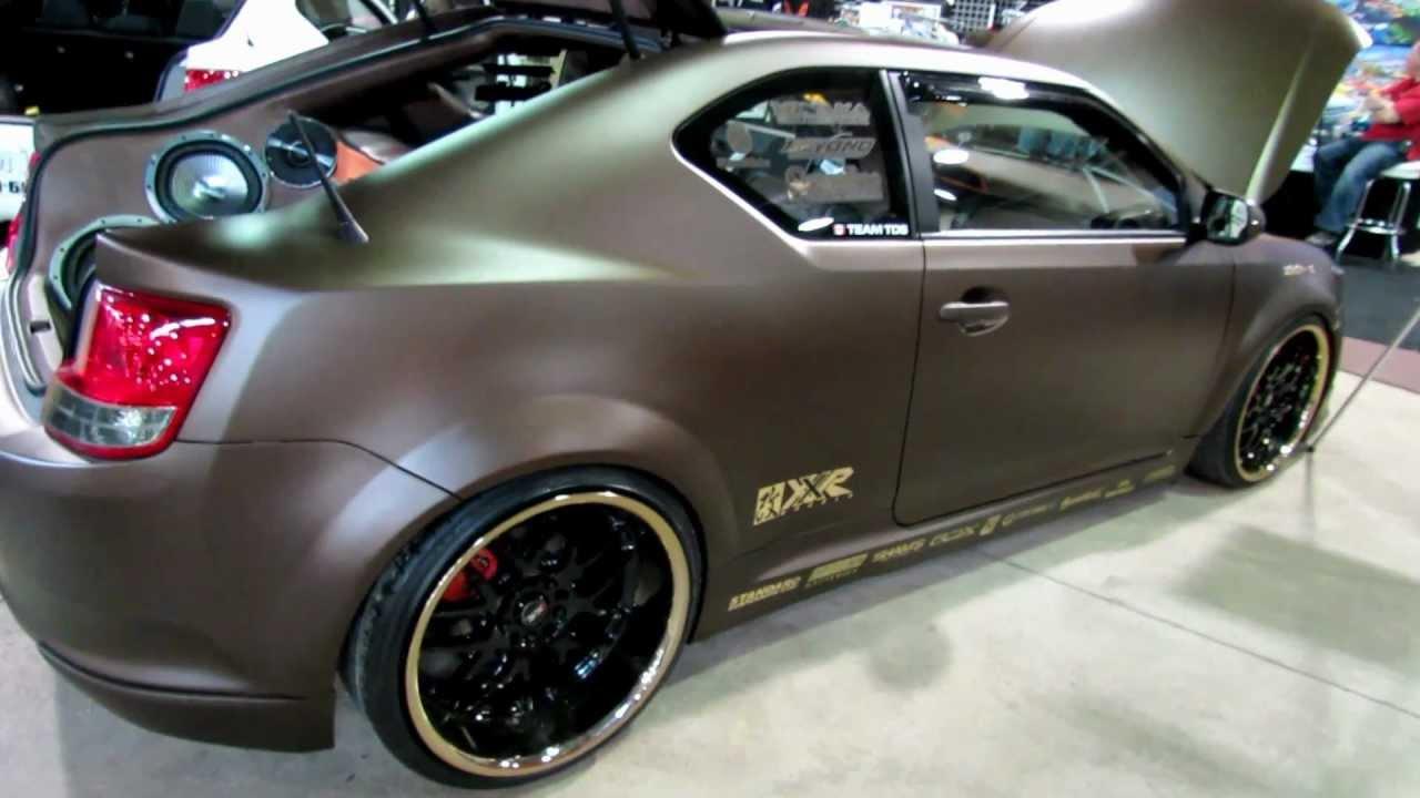 2012 Speed Amp Custom 2011 Scion Tc Custom Youtube