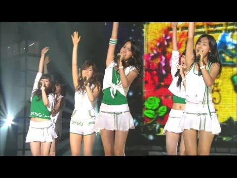 【TVPP】SNSD- Into The New World, 소녀시대 - 다시 만난 세계 @ Show Music Core Live