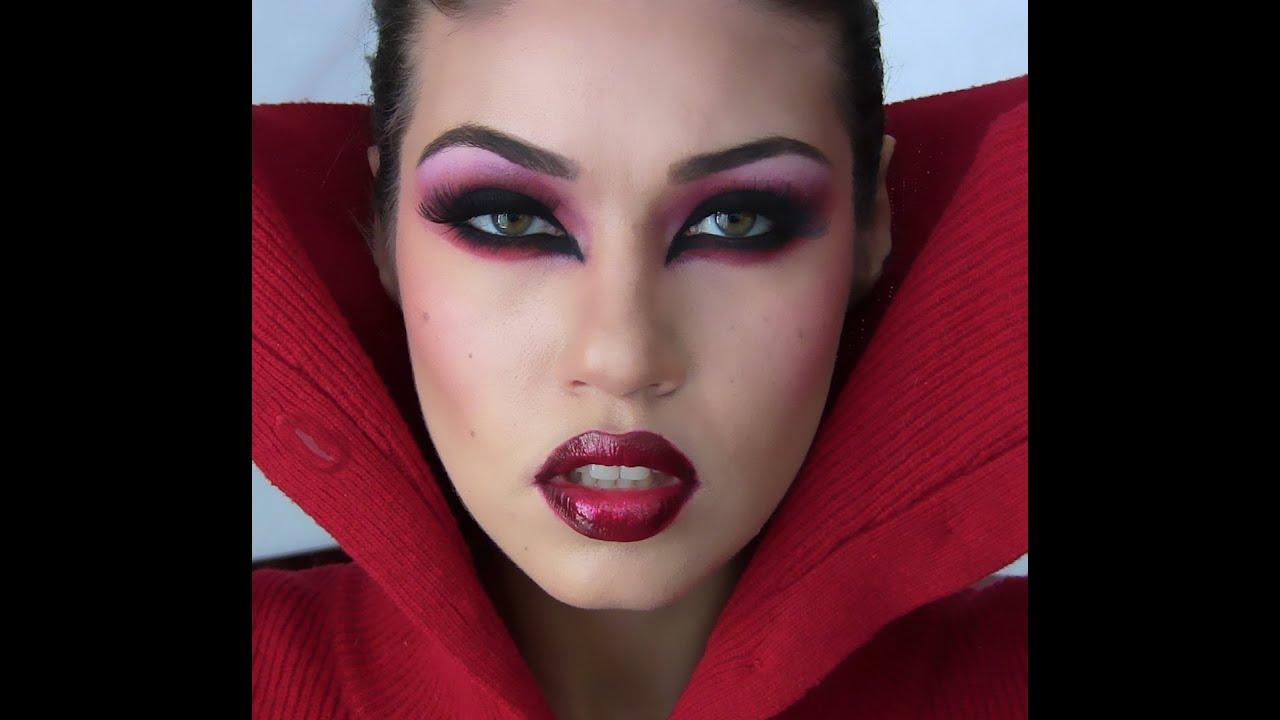 Halloween Sexy Vampire Makeup Tutorial - YouTube