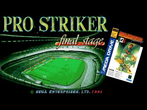Retrocasameva #17 - J-League PRO Striker Final Stage [Mega Drive]