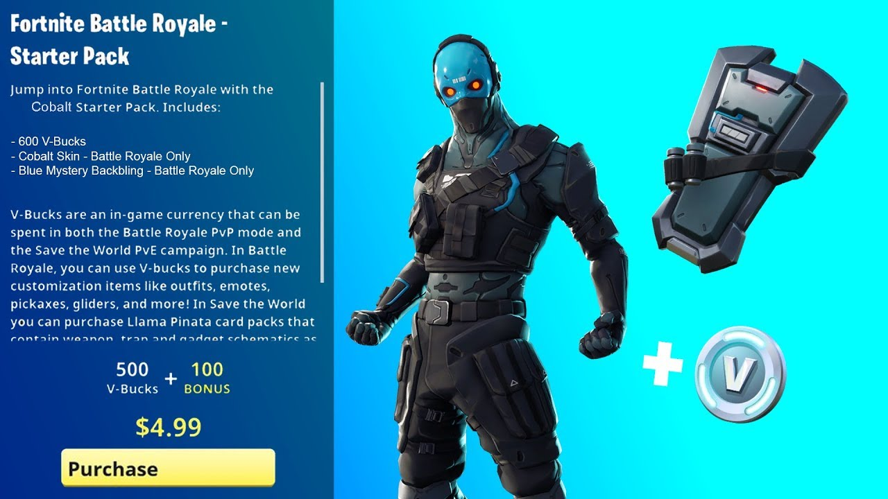 How Much Is A New Starter >> Fortnite Starter Pack 4 Release Date
