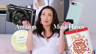 Amazon Must-Haves 2019: Vlog Camera, Bed Sheets, Snacks, & More! | Susan Yara