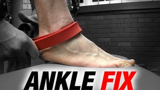 Ankle Sprain Fix and Prevention (IMPROVES SQUAT TOO!)